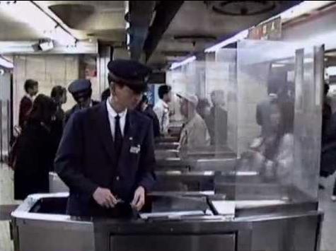 1990年当時のJR新宿駅