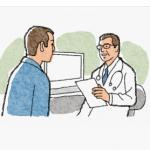 がんの告知後の心理状態、うつの精神状態から受容過程へ