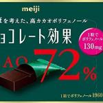 明治チョコレートのカカオポリフェノール70 以上の効果が凄い!